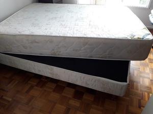 Sommier y colchón 1,40 x  pl) Semi nuevo