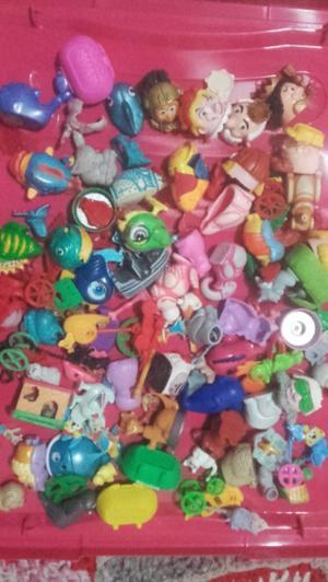 80 juguetes kinder sorpresa