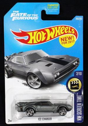 Hot Wheels Screen Time The Fate of the Furious Ice Carger