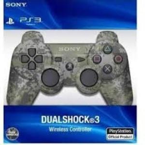 Joystick Ps3 Sony Original Play3 Bluet Inalambrico Camuflado