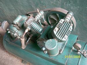 Compresor de aire bicilindrico 2 hp monofasico