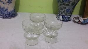 Juegos de copas de cristal