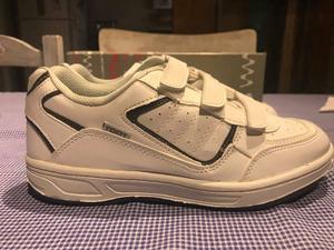 Zapatillas blancas cuero toot! IMPECABLES NUEVAS SIN USO