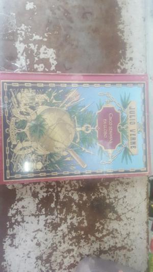 libro CINCO SEMANAS EN GLOBO julio verne