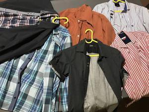 Camisas y camperas de algodón Hombre.