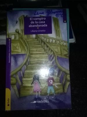 El Vampiro De La Casa Abandonada - Liliana Cinetto