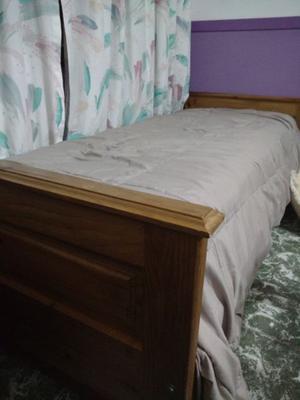 Juego de habitación..cama marinera+ mesa de luz + mesa de