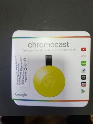 chromecast 2, nuevo en caja sin abrir