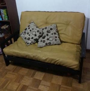 sillon futon de 2 cuerpos se hace cama matrimonial