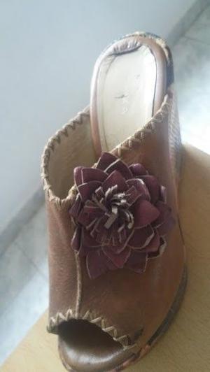 vendo zapato de cuero talle 38