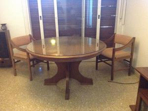 1 Mesa de comedor y 6 sillas