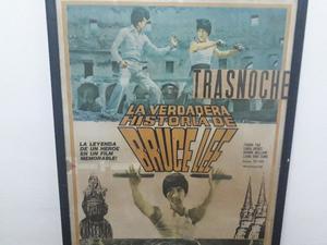 Afiche de cine, Película de Bruce Lee