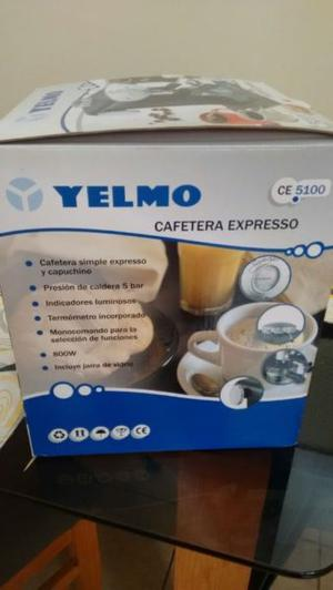 Cafetera expresso Yelmo