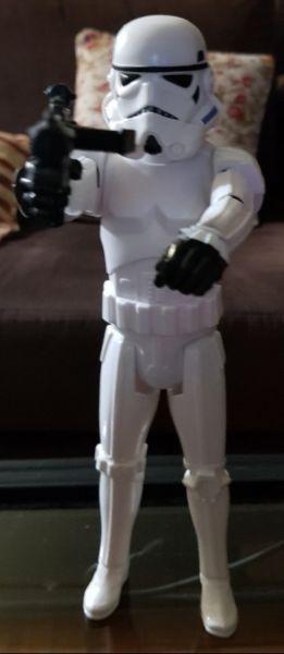Muñeco Star Wars Stormtrooper Blanco Original Articulado 30