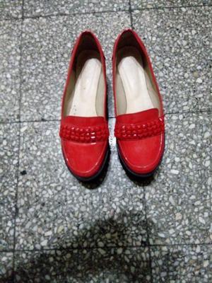 Zapatos rojos nro 37