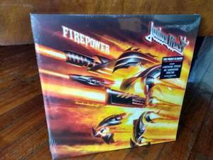 Judas Priest - Firepower Vinilo 2lp Negro + Download Stock