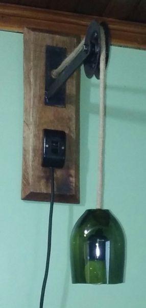 Lámpara de pared, colgante