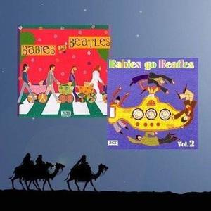Pack - Babies Go Beatles Vol.1 Y Vol. 2 - (2 Cd)