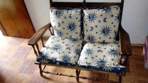 Vendo juego de sillones antiguos provenzal