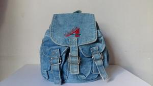 Mochila vintage de jean