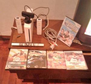 Nintendo Wii Completa original + 2Controles + 5Juego