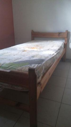 vendo cama y colchon usados