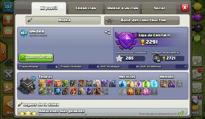 Aldea th9 Clash of Clans más  gemas