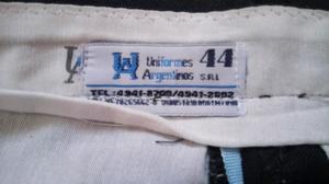 Pantalón seguridad privada hombre talle 44 usado en buen