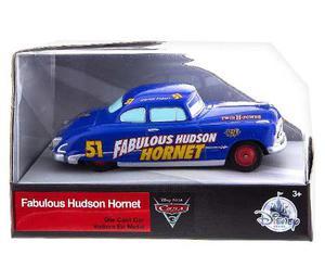 Auto Cars 3 Disney Store Fabulous Hudson Hornet Nuevo Y Orig