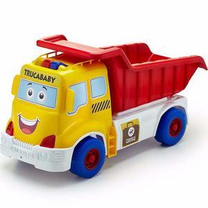 Camion Volcador Trucababy Con Luces Y Sonido Marca Calesita