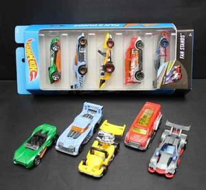 Hot Wheels Autos Surtidos Pack X5 Original Mattel