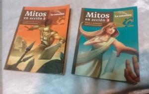 LIBRO MITOS EN ACCION 1 Y 2 LA ESTACION