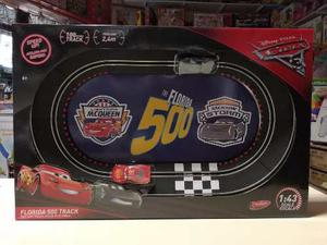 Pista Cars 3 Florida 500 Pila Mc Queen Vs Storm Orig Jretro