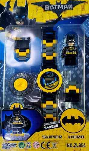 Reloj Batman Spiderma Lego Super Hero Pulsera