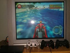 TV 29 pulgadas pantalla plana c/ control remoto