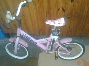 bicicleta para niña pioneer princesa