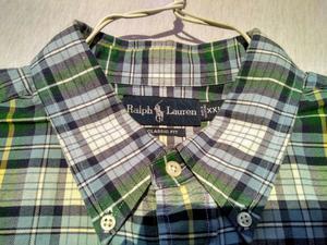 Camisa Polo Ralph Lauren, original, Talle XXL, usada..
