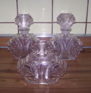 Antiguos Perfumeros Art Deco