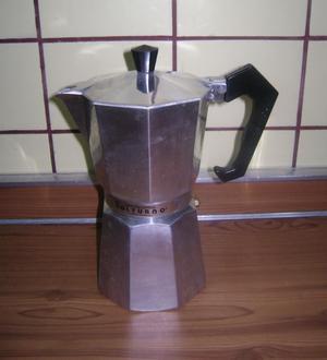 Cafetera Italiana Volturno Aluminio 12 Pocillos Impecable