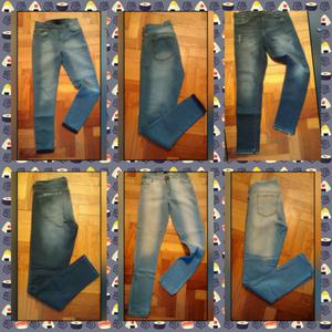 Jeans tiró alto elastizado chupin nuevos