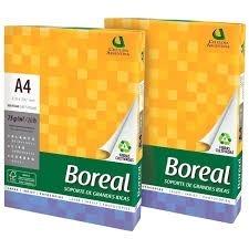 Papel A4 Boreal 75 Grs Entrega Gratis X 10 Zona Sur