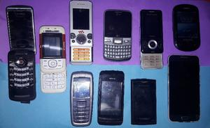 Vendo/permuto lote de celulares para repuesto