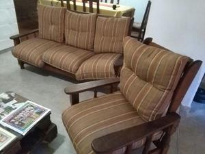 sillones de algarrobo reclinables