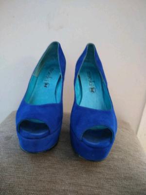 3 pares de zapatos de cuero de mujer n° 40