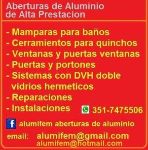 Alumifem aberturas de aluminio