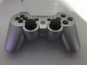 Joystick Dualshock 3 gris plateado para PS3 (play station 3)