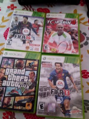 Xbox 360 original con 4 juegos y 1 joystick