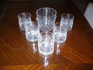 6 copas de cognac Napoleón