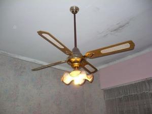 Aplique con ventilador