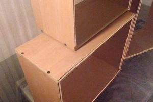 Cubos de madera recuperada. Varias medidas
